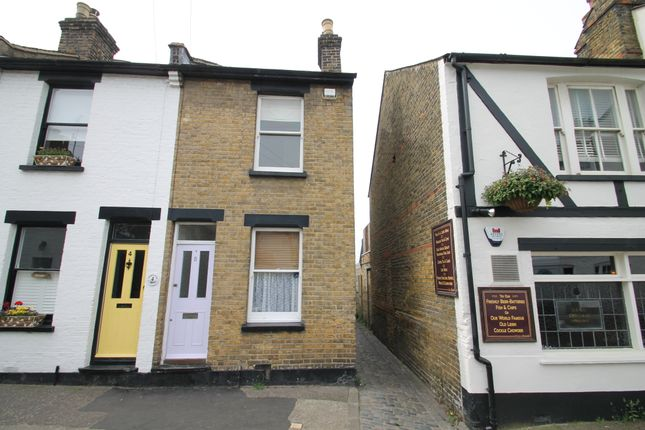 Thumbnail End terrace house to rent in Theobalds Cottages, High Street, Leigh-On-Sea