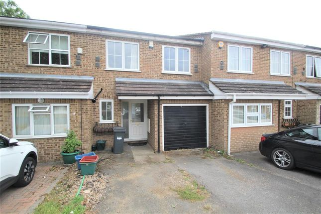 Thumbnail Terraced house to rent in Ruscombe Way, Feltham
