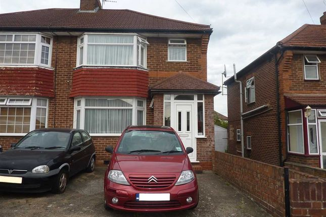 Thumbnail Semi-detached house to rent in Orchard Grove, Burnt Oak, Edgware