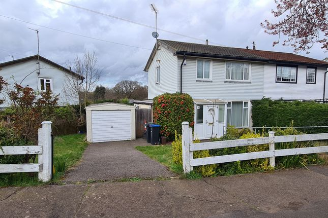 Semi-detached house for sale in Lindal Crescent, Enfield