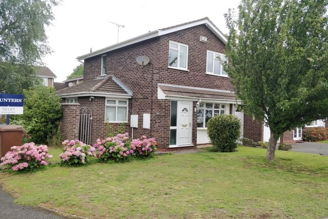 Thumbnail Detached house to rent in Lewis Close, Lichfield, Staffordshire