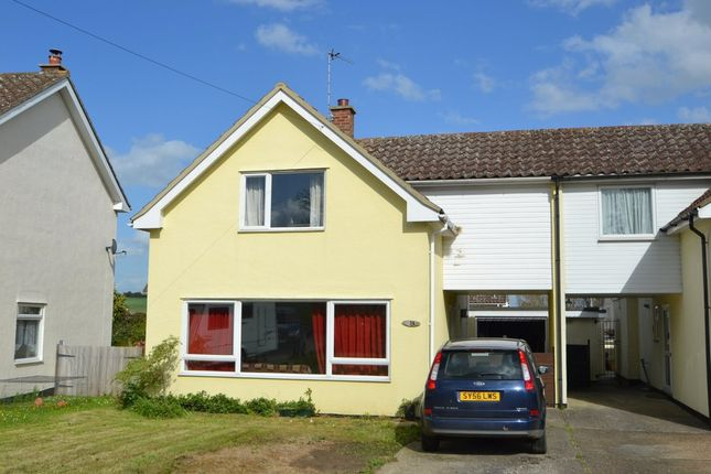 Thumbnail Link-detached house for sale in Hertford Road, Clare, Sudbury