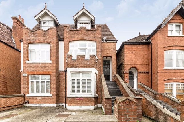 Thumbnail Flat to rent in Crediton Hill, London