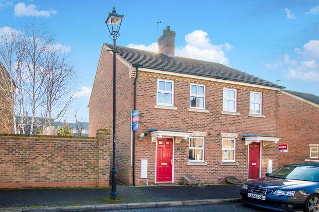 2 bed semi-detached house to rent in Great Meadow Way, Aylesbury, Buckinghamshire