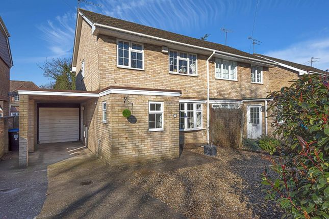 3 bed semi-detached house for sale in Claremont Road, West Byfleet KT14
