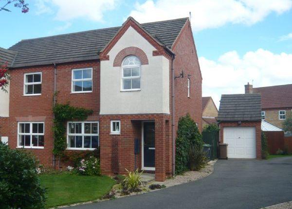 Thumbnail Semi-detached house to rent in Hospital Cottages, London Road, Bracebridge Heath, Lincoln