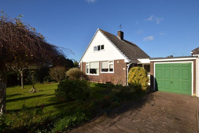 Thumbnail Detached bungalow for sale in River Close, Stoke Canon, Exeter