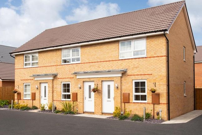 "Thumbnail Terraced house for sale in ""Kenley"" at Holme Way, Gateford, Worksop"