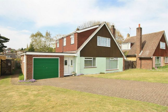 Thumbnail Detached house for sale in Ebbisham Drive, Norwich