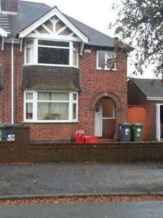 Thumbnail Semi-detached house to rent in Alexandra Road, Leamington Spa