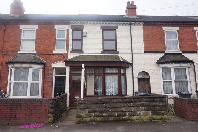 Thumbnail Terraced house for sale in Wyrley Road, Aston, Birmingham.