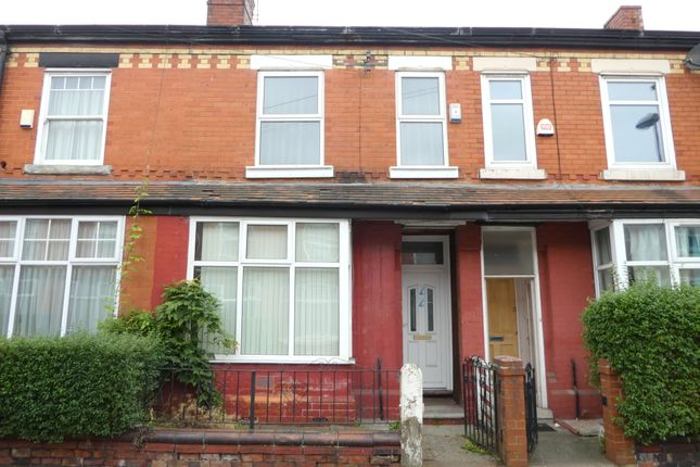 Thumbnail Terraced house to rent in Fortuna Grove, Burnage, Manchester