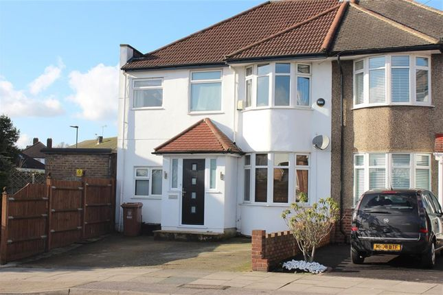 Thumbnail Semi-detached house for sale in Northumberland Avenue, Welling, Kent
