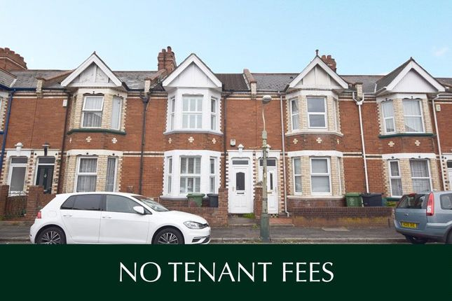Thumbnail Terraced house to rent in Old Vicarage Road, St. Thomas, Exeter