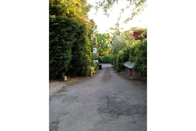 Driveway of Whirley Road, Macclesfield SK10