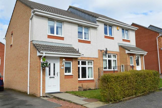Thumbnail Semi-detached house for sale in Ashmore Avenue, Kirkmuirhill, Lanark
