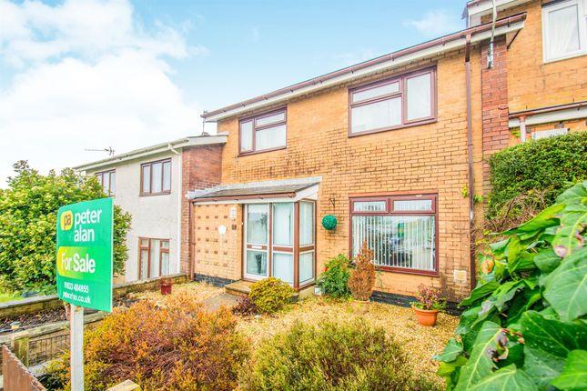 Thumbnail Terraced house for sale in Crown Rise, Llanfrechfa, Cwmbran