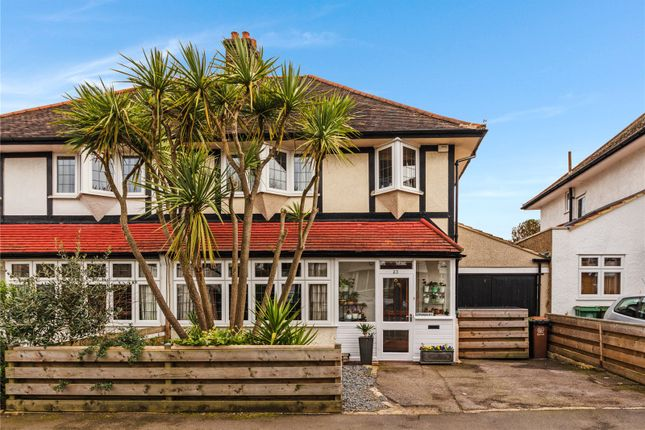 Thumbnail Semi-detached house for sale in The Manor Way, Wallington