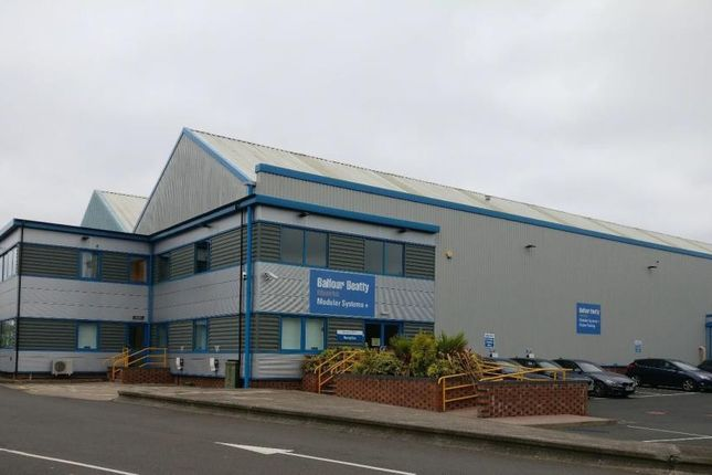 Industrial to let in Unit 4 The Woodsbank Trading Estate, Woden Road West, Wednesbury