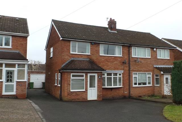 3 bed semi-detached house for sale in Hundred Acre Road, Streetly, Sutton Coldfield