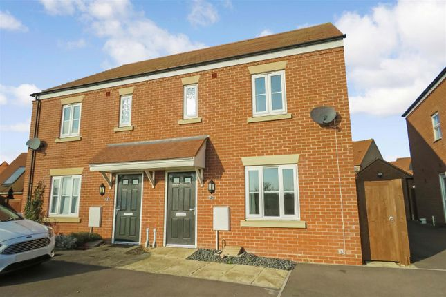 Thumbnail Semi-detached house for sale in Torquay Close, Biggleswade