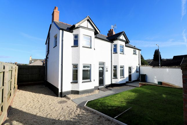 Thumbnail Link-detached house for sale in Cross Street, Caerleon, Newport