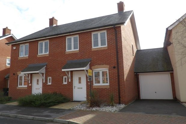 Thumbnail Semi-detached house to rent in Cutforth Way, Romsey
