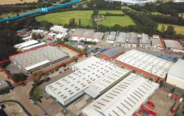Thumbnail Light industrial for sale in Key House & 167 Scudamore Road, Braunstone Frith Industrial Estate, Leicester