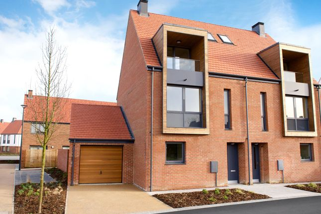 "Thumbnail Semi-detached house for sale in ""Violet"" at Meadlands, York"
