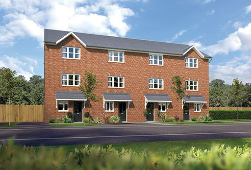 """Thumbnail Terraced house for sale in """"Buttermere Dg"""" at Arrowe Park Road, Upton, Wirral"""