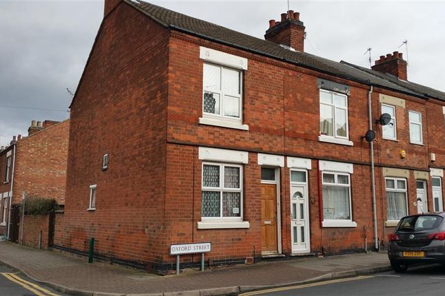 Thumbnail Terraced house to rent in Oxford Street, Loughborough