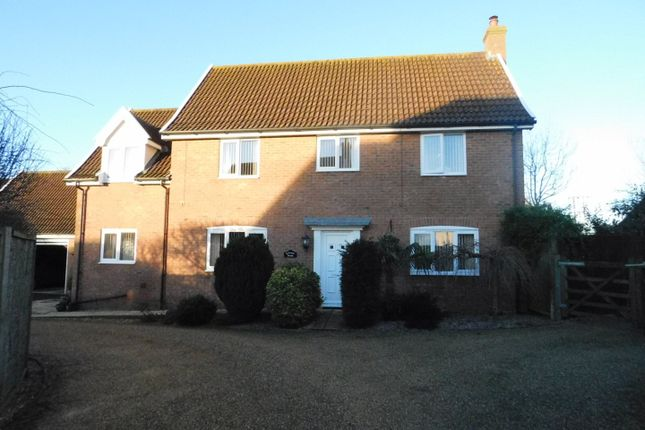 Thumbnail Detached house for sale in Mendlesham Green, Stowmarket