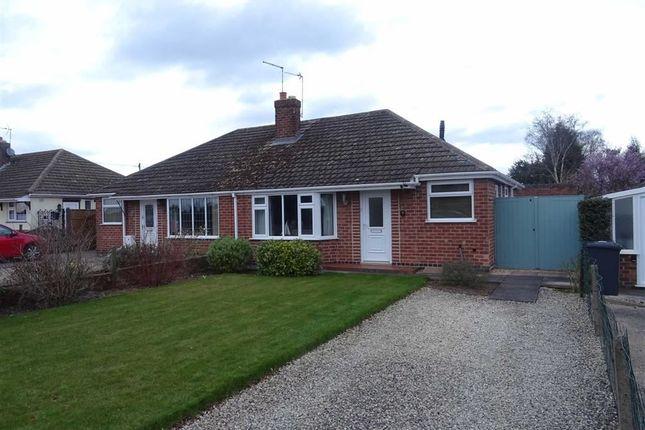 Thumbnail Semi-detached bungalow for sale in Greenwood Road, Stoke Golding, Nuneaton