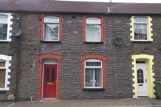 Thumbnail Terraced house for sale in Coedpenmaen Road, Trallwn, Pontypridd