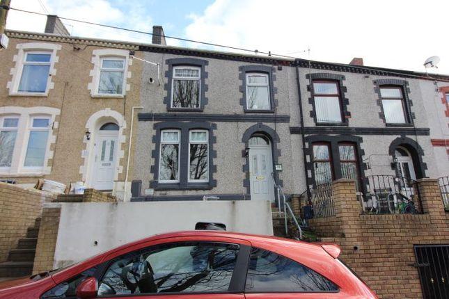 Thumbnail 4 bed terraced house for sale in Hillside Terrace, Waunlwyd, Ebbw Vale