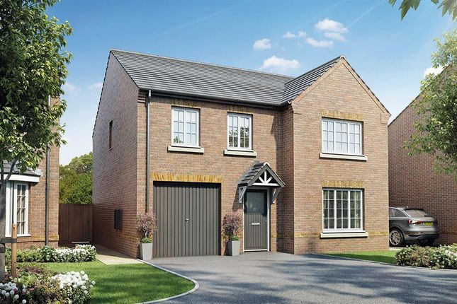 "Thumbnail Detached house for sale in ""The Eynsham - Plot 34"" at West End Lane, New Rossington, Doncaster"