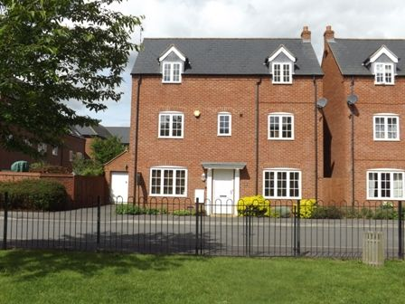 Thumbnail Detached house to rent in Pipistrelle Drive, Market Bosworth