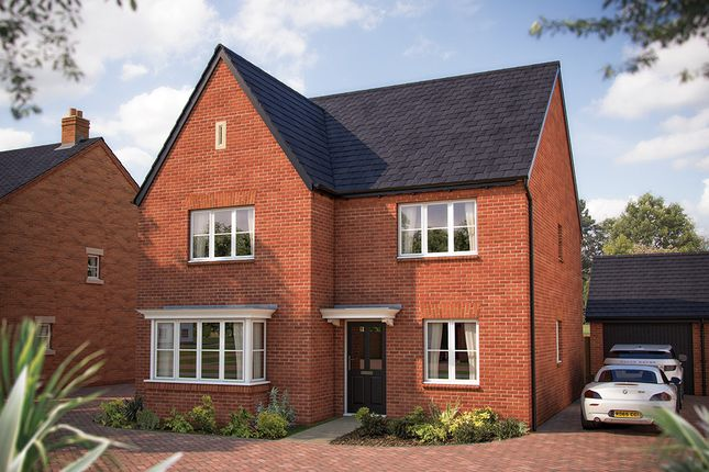"Thumbnail Detached house for sale in ""The Oxford"" at Gable Mews, Salford Road, Bidford-On-Avon, Alcester"