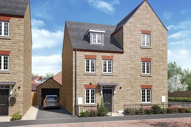 4 bed semi-detached house for sale in 2 The Kingsville, The Chimes, Middleton Stoney Road, Bicester, Oxfordshire OX26