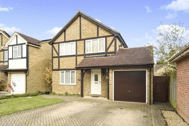 Thumbnail Detached house for sale in Wield Court, Lower Earley, Reading