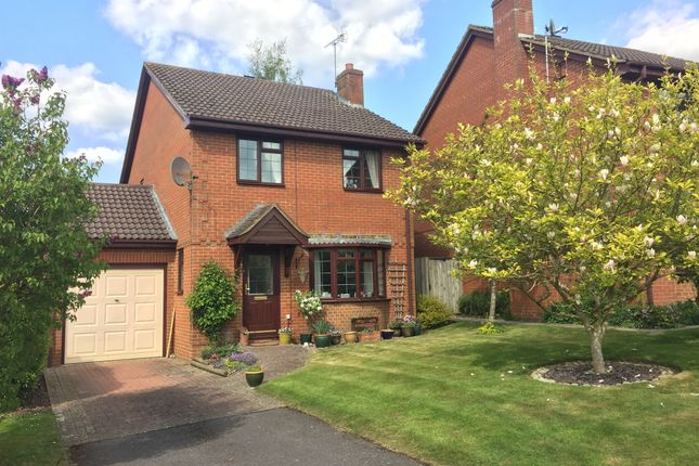 Thumbnail Detached house for sale in Brunel Close, Micheldever Station, Winchester