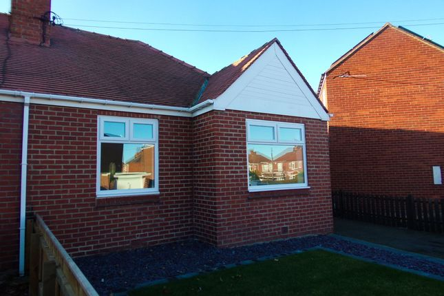 Thumbnail Bungalow for sale in Moorland Crescent, Bedlington