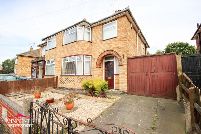 Thumbnail Semi-detached house to rent in Mossdale Road, Leicester