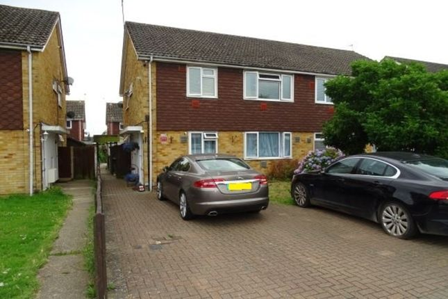 Thumbnail Maisonette for sale in Hithermoor Road, Stanwell Moor