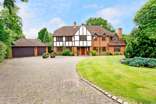 Thumbnail Detached house for sale in Churchill Drive, Knotty Green, Beaconsfield, Buckinghamshire