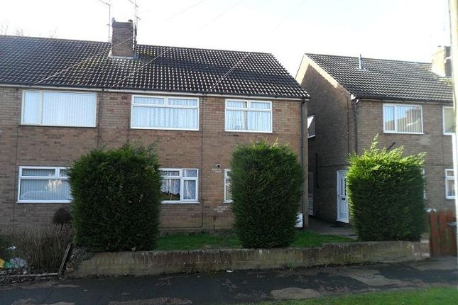 Thumbnail Flat to rent in Woodfield Close, Lincoln