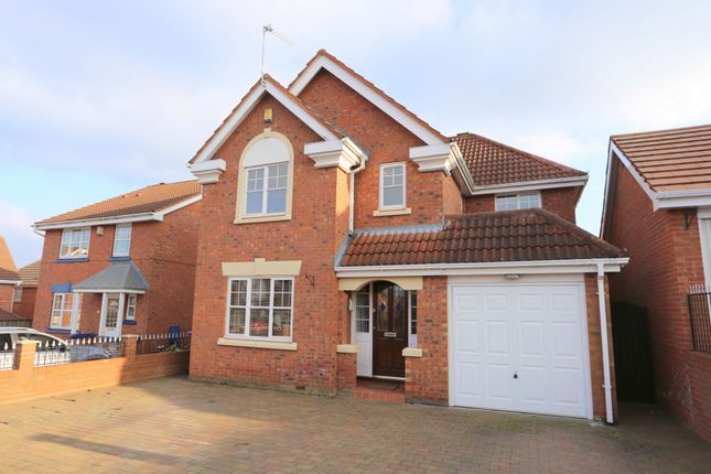 Thumbnail Detached house for sale in Hobby Close, Meir Park