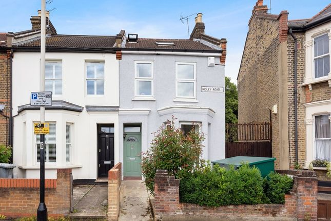 Thumbnail End terrace house to rent in Ridley Road, London
