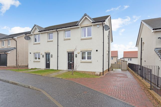 Thumbnail 3 bed semi-detached house for sale in Mackinnon Place, Dunfermline