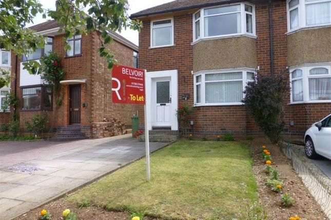 Thumbnail Semi-detached house to rent in Wheatfield Road, Bilton, Rugby